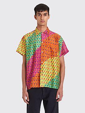 Bode Summer Paisley Shirt  Multi Color