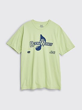 Book Works Support T-shirt Celadon
