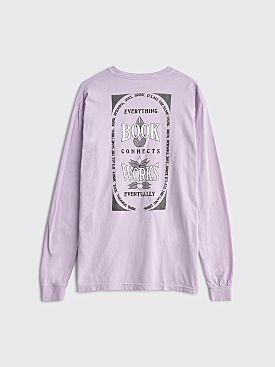 Book Works Lotus LS T-shirt Orchid