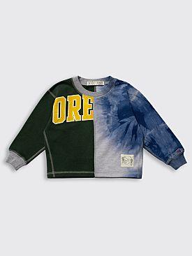 BORN FREE Kid's Sweatshirt 2-4 Years Green / Blue