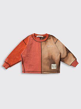 BORN FREE Kid's Sweatshirt 2-4 Years Red / Brown