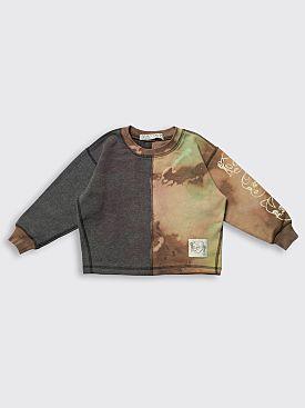 BORN FREE Kid's Sweatshirt 2-4 Years Grey / Brown