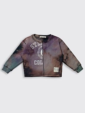 BORN FREE Kid's Sweatshirt 5-7 Years Purple / Blue