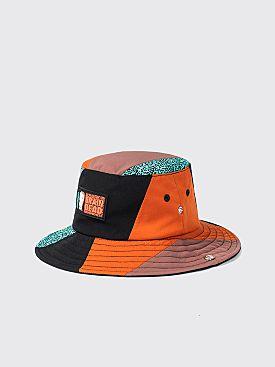Brain Dead x Prince Pieced Bucket Hat Black