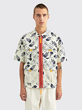 The North Face x Brain Dead Boxy Mountain Shirt Vintage White