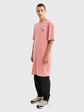 The North Face x Brain Dead T-shirt Dress Mesa Rose