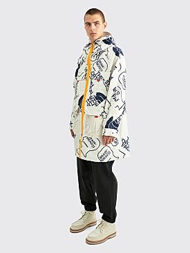 The North Face x Brain Dead Oversized Mountain Light Parka Vintage White
