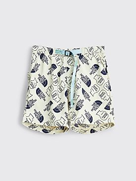 The North Face x Brain Dead Baggy Climber Shorts Vintage White