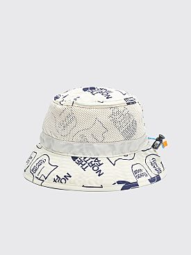 The North Face x Brain Dead Bucket Hat Vintage White