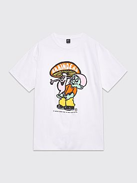 Brain Dead Nevermind T-shirt White