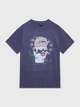 Brain Dead Cure T-shirt Navy