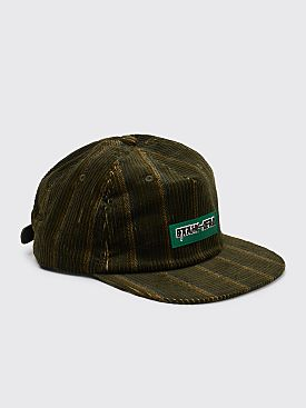 Brain Dead Cord 5 Panel Cap Stripe Green