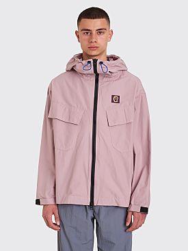 Brain Dead Zip Anorak Jacket Lavender