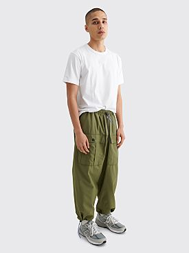 Brain Dead Flight Pants Green