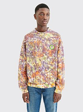 Brain Dead Eyeballz Crewneck Sweatshirt Multi Color