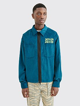 Brain Dead Mushroom Corduroy Shirt Jacket Rain