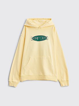 Brain Dead Earth Tour Hooded Sweatshirt Lemon