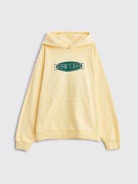 Brain Dead Earth Tour Hooded Sweatshirt Lemon