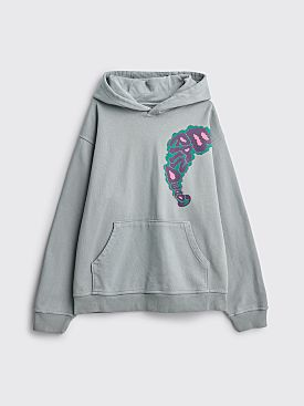 Brain Dead Will Sweeney Hooded Sweatshirt Slate Grey