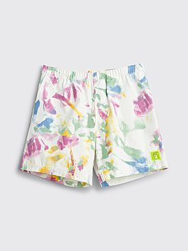 Brain Dead Dry Pigment Dye Canvas Shorts White