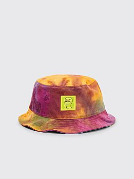 Brain Dead Dyed Canvas Bucket Hat Multi Color