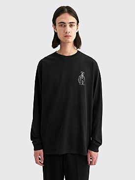 Brain Dead Struggles Long Sleeve T-shirt Black