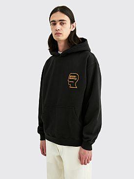 Brain Dead Lovers Embrace Hooded Sweatshirt Black