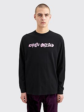 Brain Dead Dominant Life Forms LS T-shirt Black