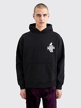 Brain Dead Acid Sun Ride Hooded Sweatshirt Black