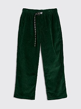 Brain Dead Running Head Corduroy Pant Green