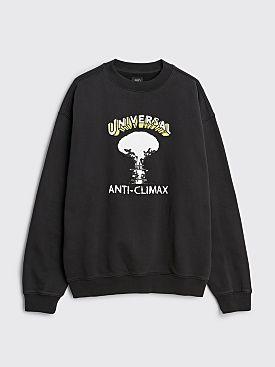 Brain Dead Universal Anti-Climax Sweatshirt Black