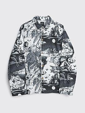 Brain Dead Wild Things Pajama Top Black / White