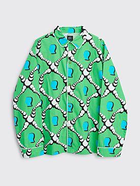 Brain Dead Bubble Pajama Top Green