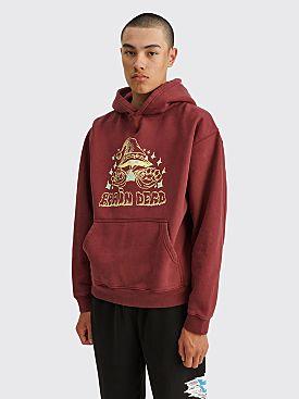 Brain Dead Constantine The Wizard Hooded Sweatshirt Maroon