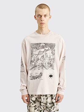 Brain Dead Motherboard Long Sleeve T-shirt Tan