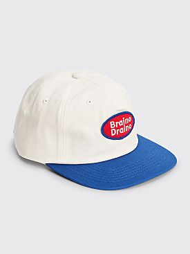 Brain Dead Braino Draino Strap Back Hat White