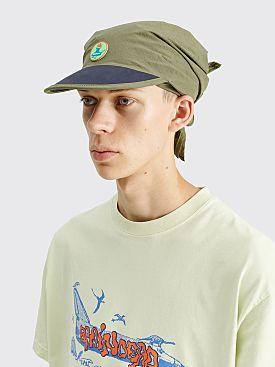 Brain Dead Bandana Hat Forest Green