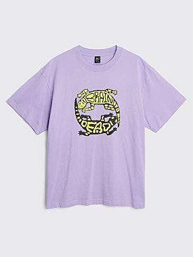 Brain Dead Lizard Lock T-shirt Lavender