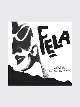 Carhartt WIP x Fela Kuti Live In Detroit 1986 Vinyl