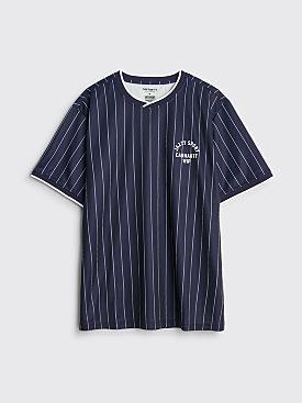 Carhartt WIP Relevant Parties x Jazzy Sport T-shirt Navy