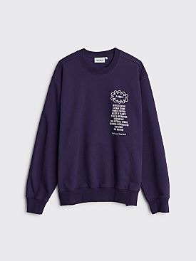 Carhartt WIP Relevant Parties x Public Possession Sweatshirt Purple