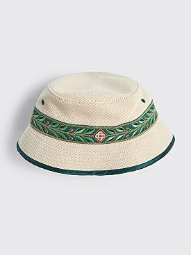 Casablanca Laurel Bucket Hat Natural