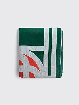 Casablanca Towel Logo Green