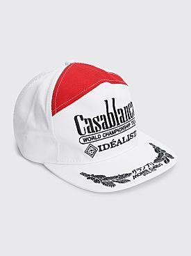 Casablanca 100's Japan Twill / Mesh Cap White