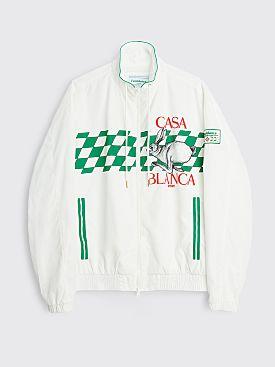Casablanca Casa Sport Tracksuit Top White