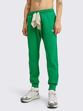 Casablanca Scarf Sweatpants Green