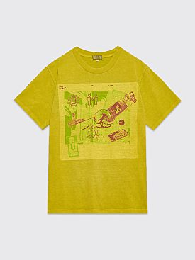 Cav Empt Overdye Memoires T-shirt Green