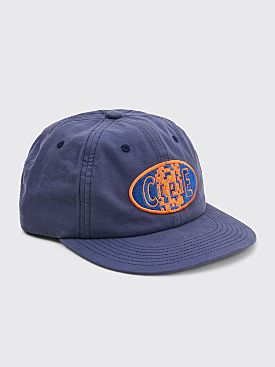 Cav Empt CceE Six Panel Low Cap Blue