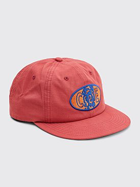 Cav Empt CceE Six Panel Low Cap Red