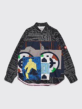 Cav Empt Popup Layer Big Shirt Black